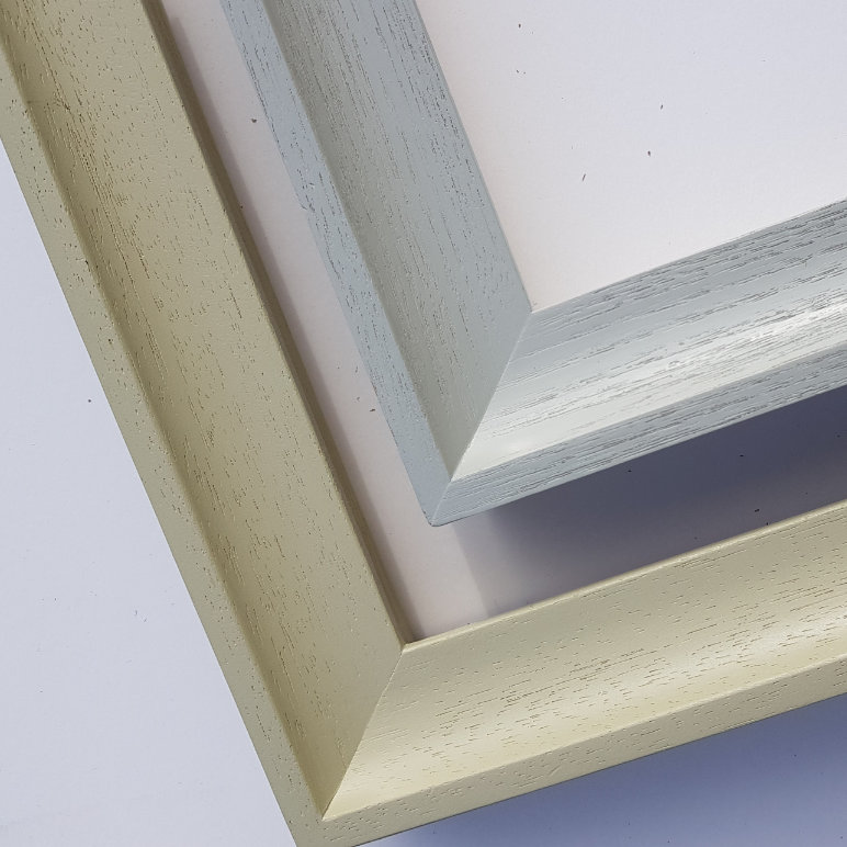 Grainy colour finishes - pictureframes.co.uk