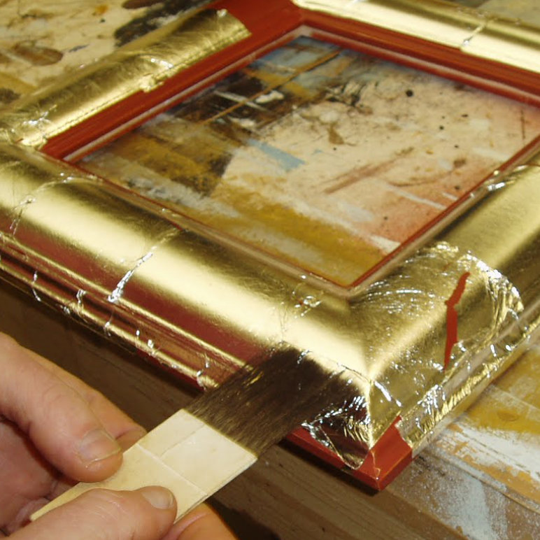 Water gilded finishes - pictureframes.co.uk
