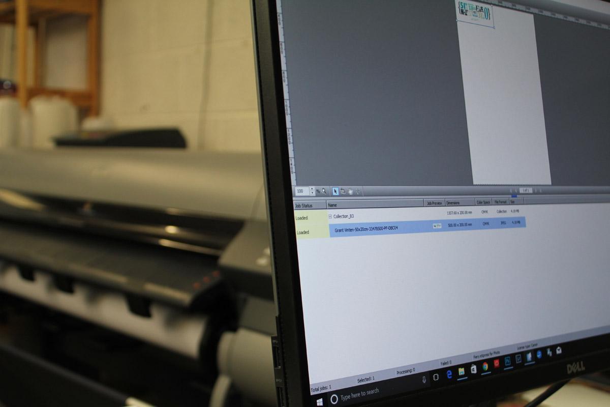 Pictureframes of shaftesbury - Fine art printing