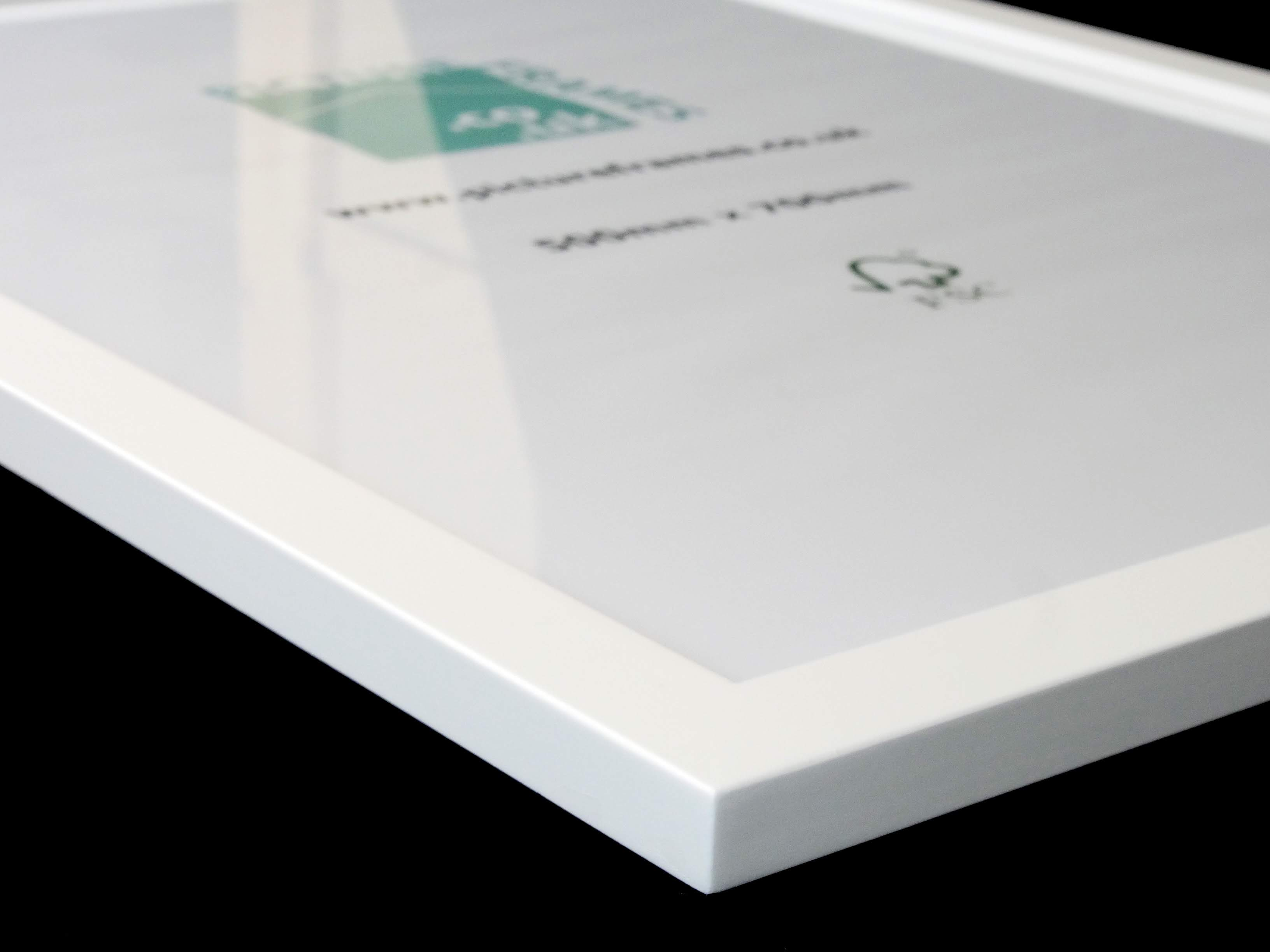 pictureframes.co.uk white frame ready to go