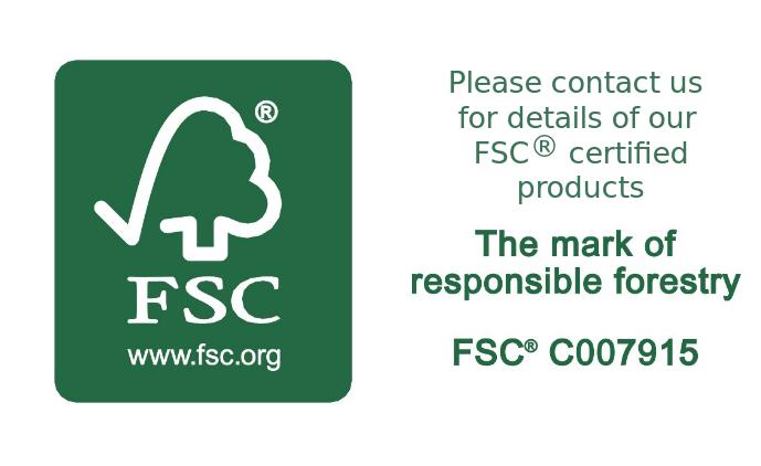FSC certified oak picture frames